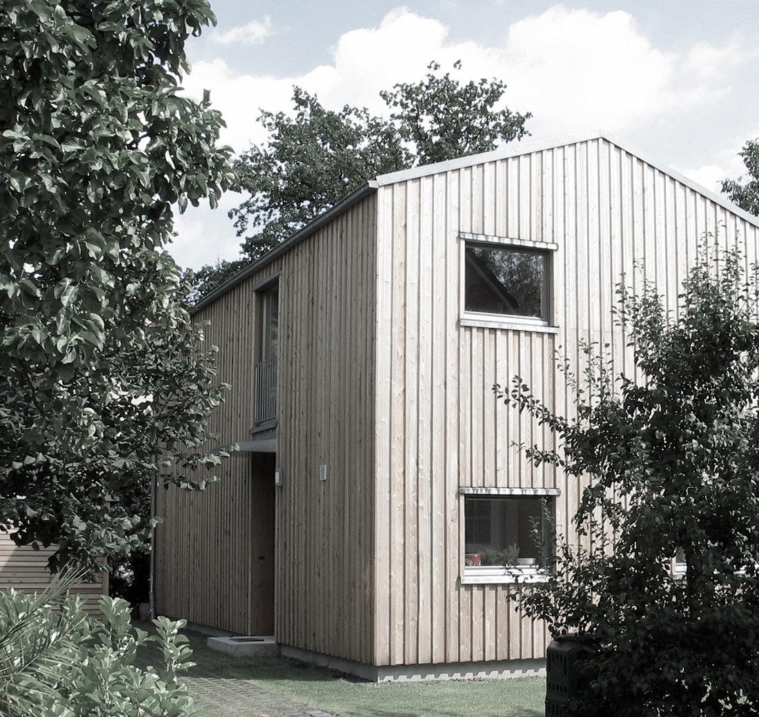 Wohnhaus in Holzbauweise 2007